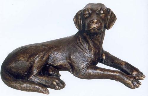 Brass Dog Sculpture