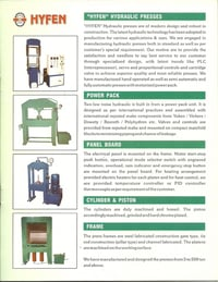 Hydraulic Press For Stamping & Armature