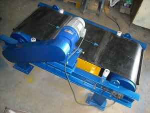 Overband Self Cleaning Magnetic Separator
