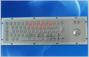 Keyboard with Track Ball