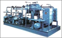 COMPACT CHILLER PACKAGE UNIT WITH MULTI COMPRESSOR