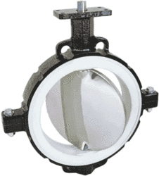 Inflatable Butterfly Valve