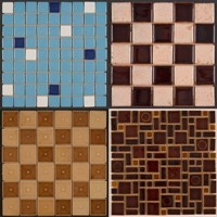 Patterns In Glazed Mosaic