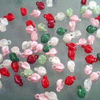 Plastic Loop Beads