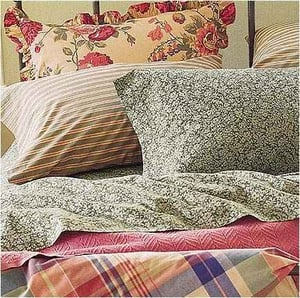 PRINTED COTTON PILLOW COVERS