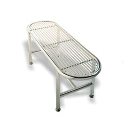 Cylinder Tube Gowning Bench