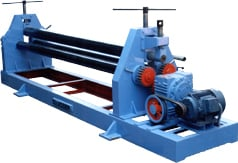 Pyramid Type Plate Bending Roller