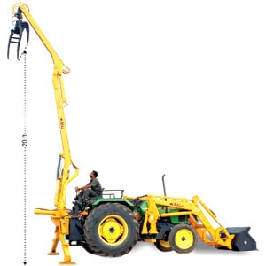 BULL RADIAL LOADER TRACTOR ATTACHMENT