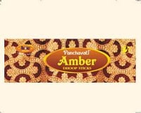 AMBER THICK DHOOP STICKS