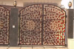 Fiber Glass Gate Panels