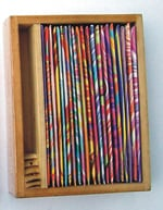 PERFUMED INCENSE STICKS IN WOODEN BOX