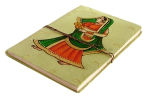 COTTON CLOTH COVER NOTEBOOK DIARY