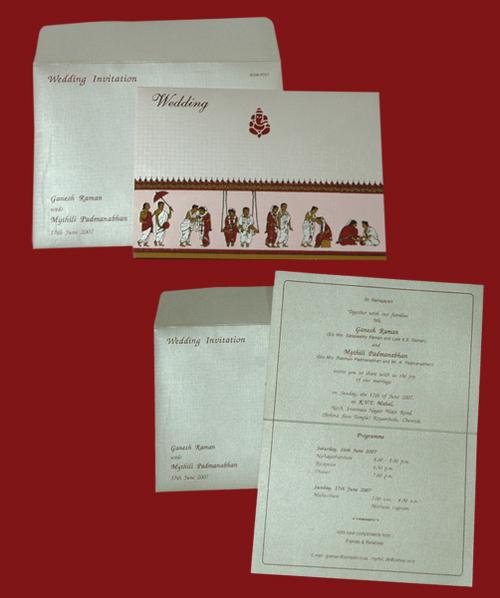 Trendy Wedding Invitation Cards: DESIGNER WEDDING INVITATION CARDS At Best Price In Chennai