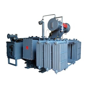 Distribution Transformer with On-Load Tap Changer