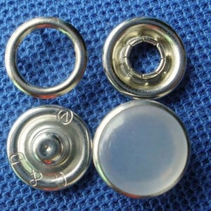 Pearl Prong Snap Button