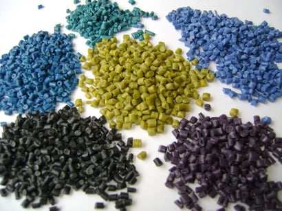 Various Colors Available Recycled Plastics Granules