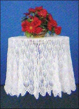 Crochet Round Table Cover
