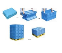 Superior Finish Folding Crate Series