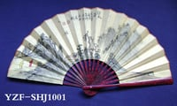 Chinese Paper Printed Fan