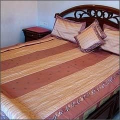 Embroidered Bed Spread