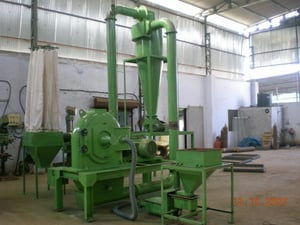 Industrial Plastic Grinding Mill