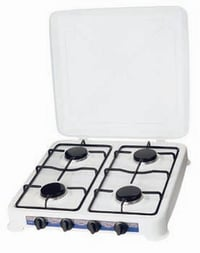4 Burner Gas Stove With Cover