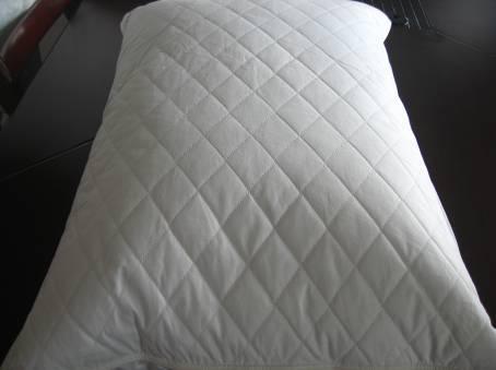Soft White Cotton Pillow