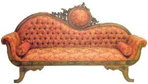 Single Ended Antique Sofa