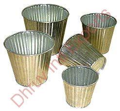 Designer Galvanized Buckets