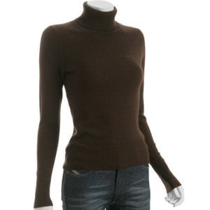 Brown Color Cashmere Sweater