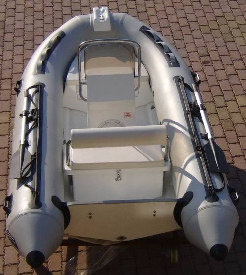Grey Color Rigid Inflatable Boat