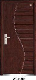 Heat Resistance Steel Security Door