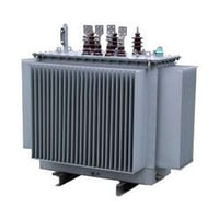3 Phase Oil Filled Distribution Transformer With Corrugated Tanks