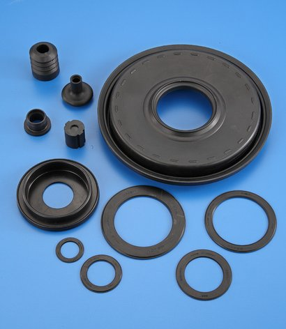 Black Color Rubber Bearing Cover
