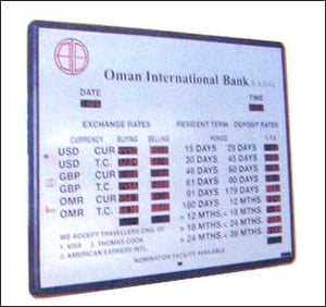 Electronic Foreign Currency Boards