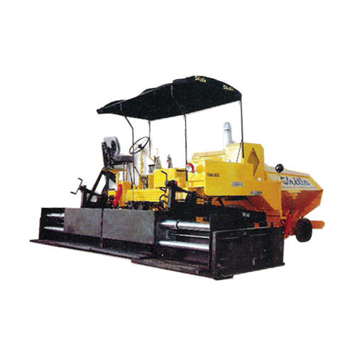Asphalt Cum Wet Mix Paver Finisher With Telescopic Screed