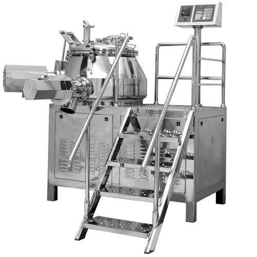 Rapid Mixer Granulator Machine
