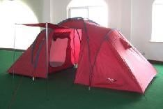 Red Color Family Tunnel Tent