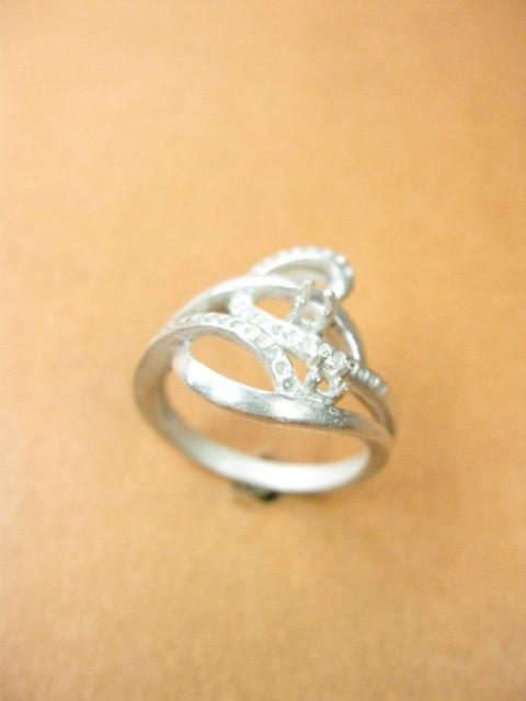 Appealing Look Diamond Silver Ring