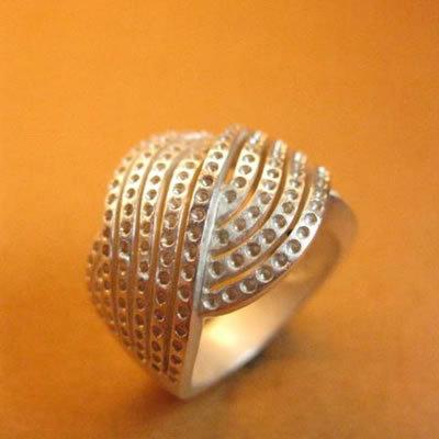 Attractive Look Silver Rings