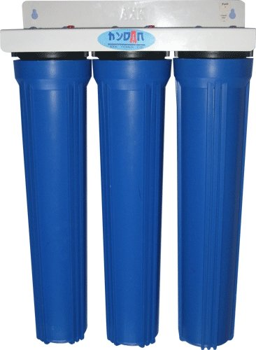 20Ga Pipeline Water Purifier - 3 Stages Installation Type: Wall Mounted