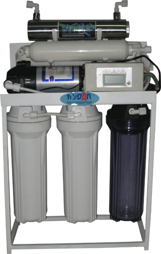 RO Water Purifier with LCD Show TDS And UV Sterilizer (60GPD)