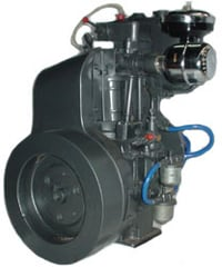 Single Cylinder Air Cooled Engine