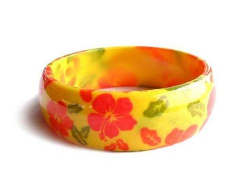 Party Aestheticaly Desdigned Resin Bangle