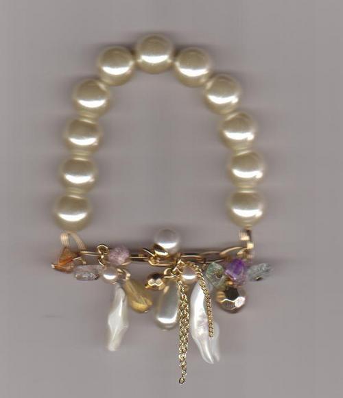 Gold Plated Fashion Bracelet Gender: Children