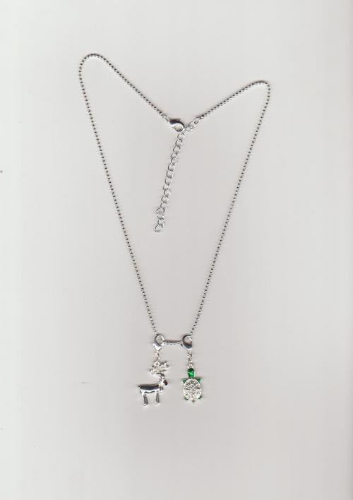 Trendy Design Silver Necklace Gender: Unisex