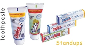 Tooth Paste Tube (Standups)