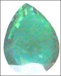 Green Pearl Shape Beads