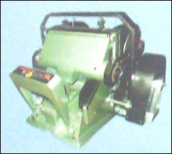 Green Heavy Duty Die Cutting Creasing And Embossing Platen Press