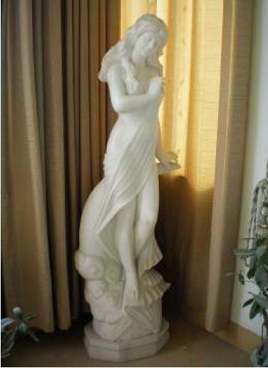 Dust Resistance Lady Stone Sculpture